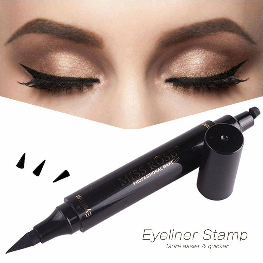 Winged Eye Makeup Winged Eyeliner Stamp Waterproof Makeup Cosmetic Eye Liner Pencil