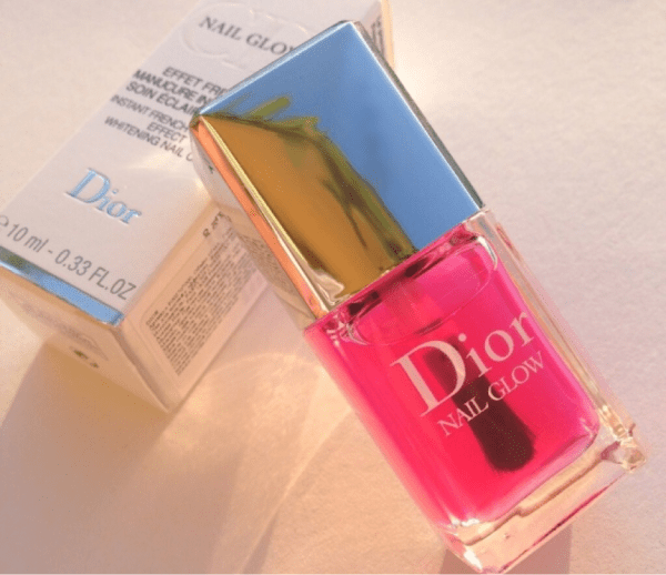 Dior Nail Glow Instant French Manicure Effect Whitening Nail Care