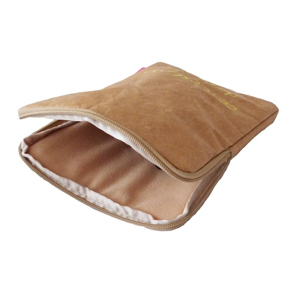 tyvek ipad cover, tyvek ipad sleeve, brown tyvek