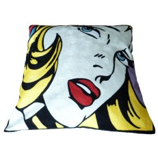 Embroidered cushion cover - Happy New Year