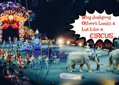 Why Judging Others Looks A Lot Like a Circus