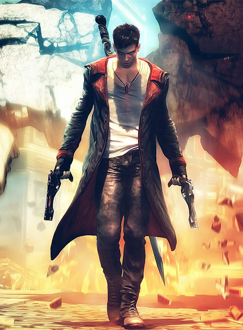 Devil May Cry 5 Dante Leather Coat : MakeYourOwnJeans ...