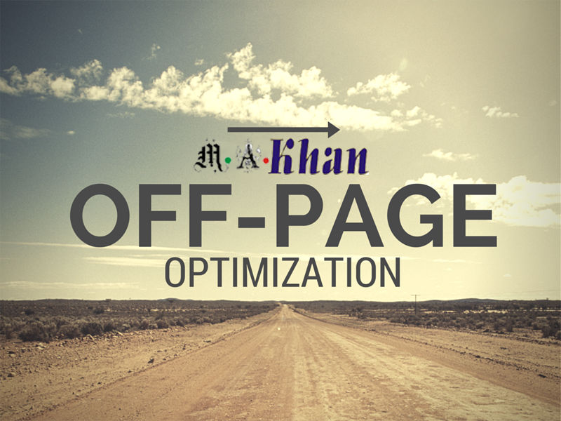 "Don't forget ""off-page"" optimization"
