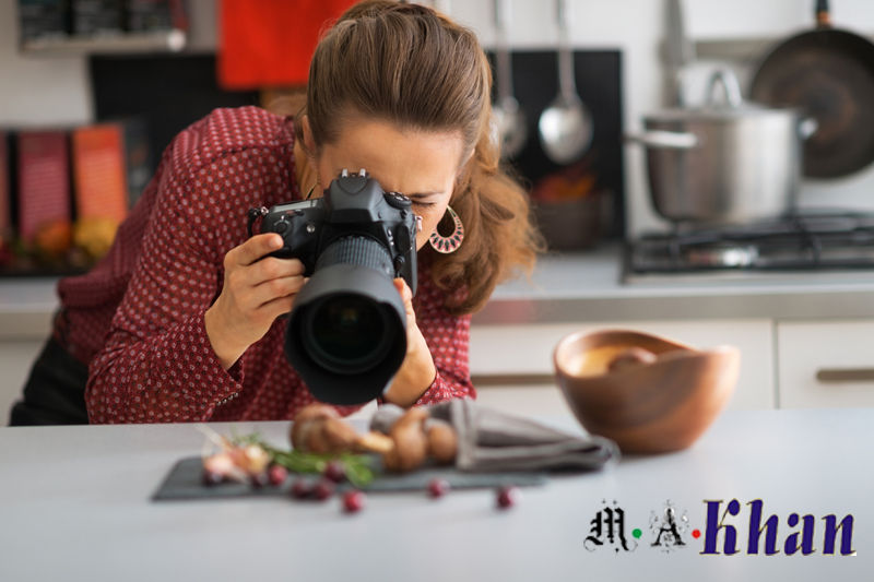 traditional photography for food blogging