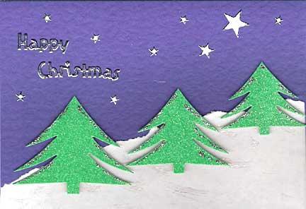 Handmade Christmas Cards By Beryl Deacon