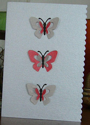 Handmade Butterfly Cards A Weekly Card Challenge