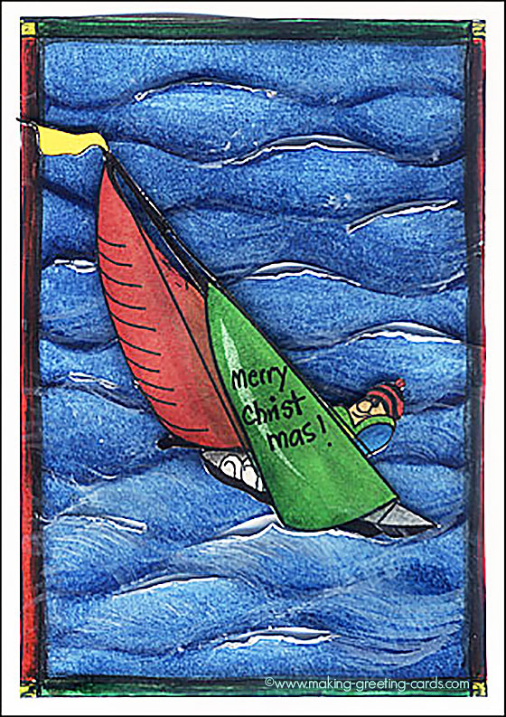 Sailboat Christmas Cards