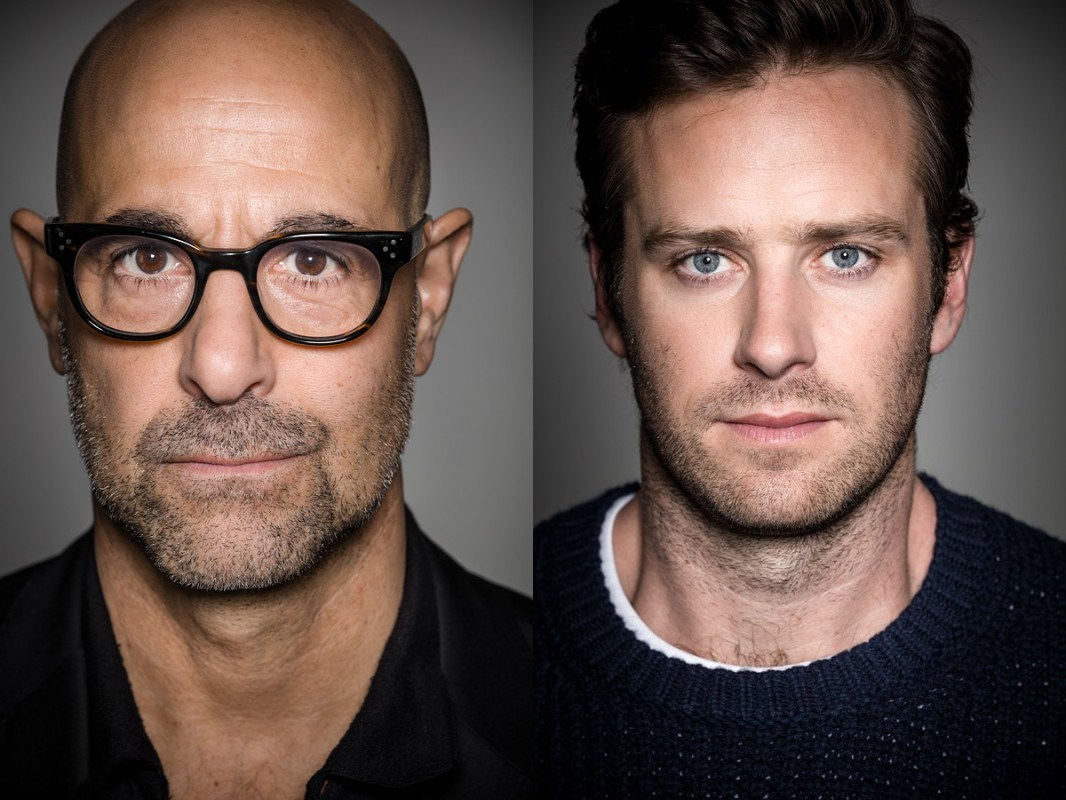 EXCLUSIVE: Stanley Tucci and Armie Hammer Discuss Art, Food, Stardom, Politics and 'Final Portrait'