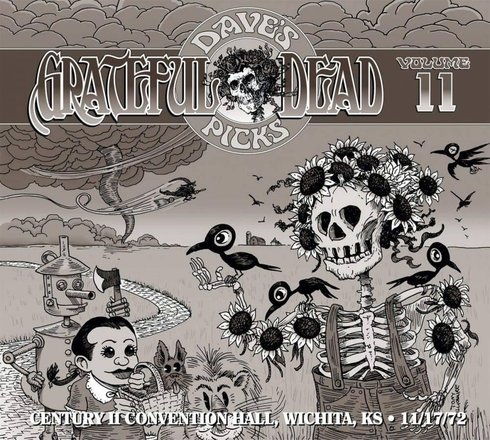 Grateful Dead Dave's Picks 11 cover