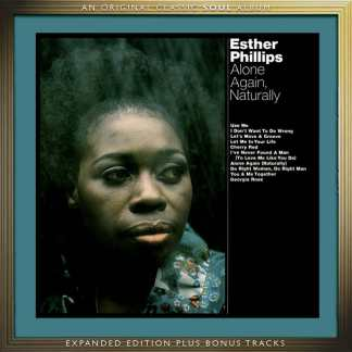 Esther Phillips Alone Again, Naturally CD Cover Art