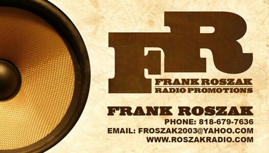 An Exclusive Interview with Frank Roszak!