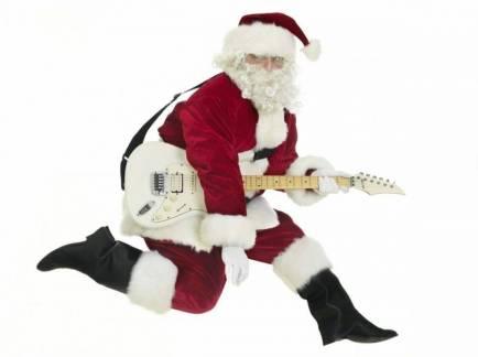 Santa-with-guitar