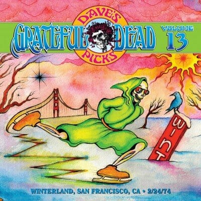 Grateful Dead Dave's Picks 13 cover