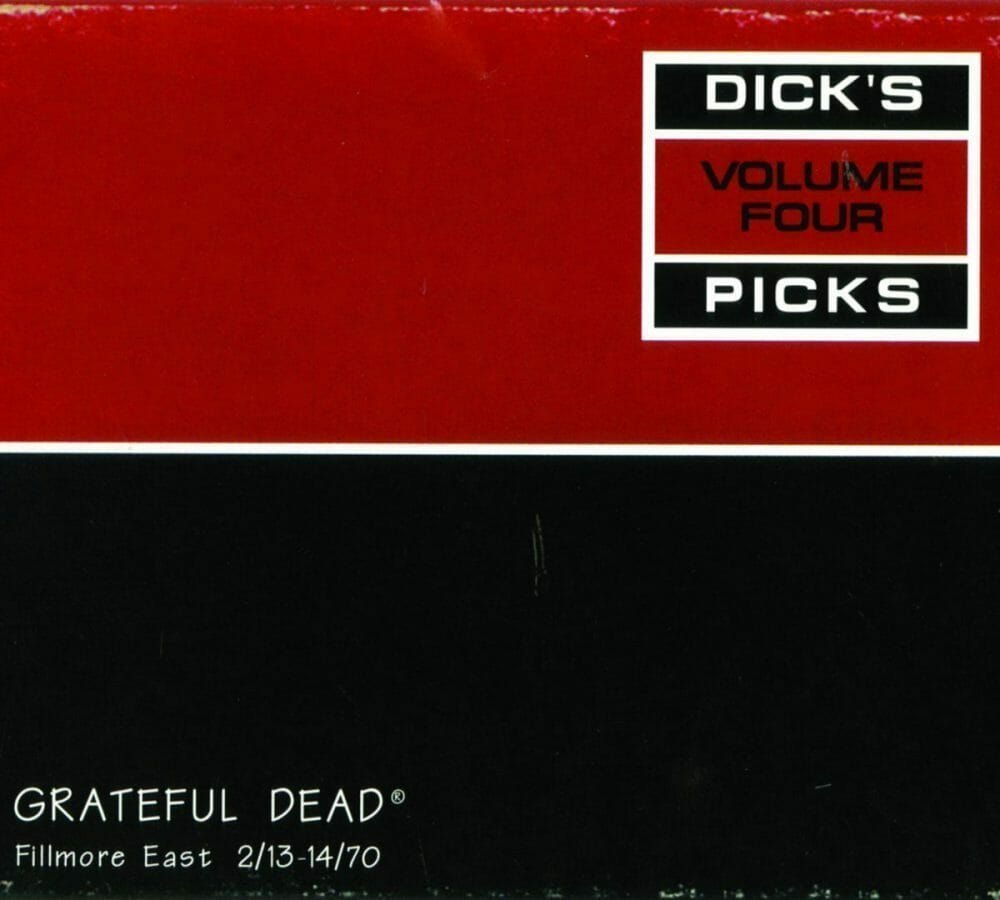 Grateful Dead Dick's Picks 4 - Fillmore East  2-13-14-70