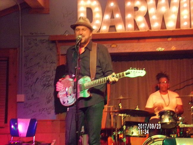 Ted Drozdowski and The Scissormen at Darwin's in Sandy Srings, Sept. 23