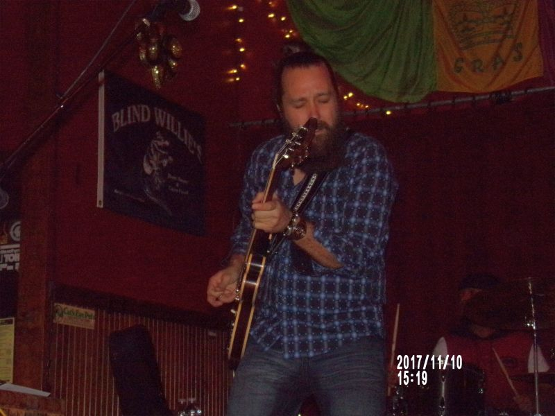 Blues Stotts: Blind Willie's, Atlanta GA, Nov. 11