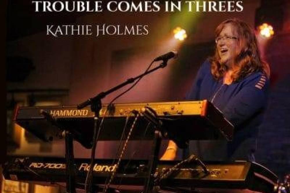 Kathie Holmes CD Album Cover