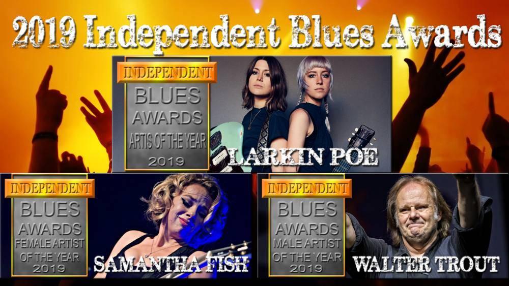 2019 Independent Blues Awards!