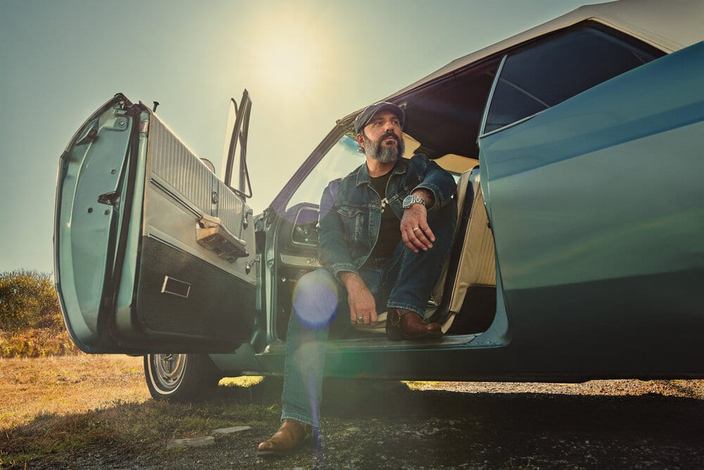 Portraits of Blues/Rock musician Mick Hayes