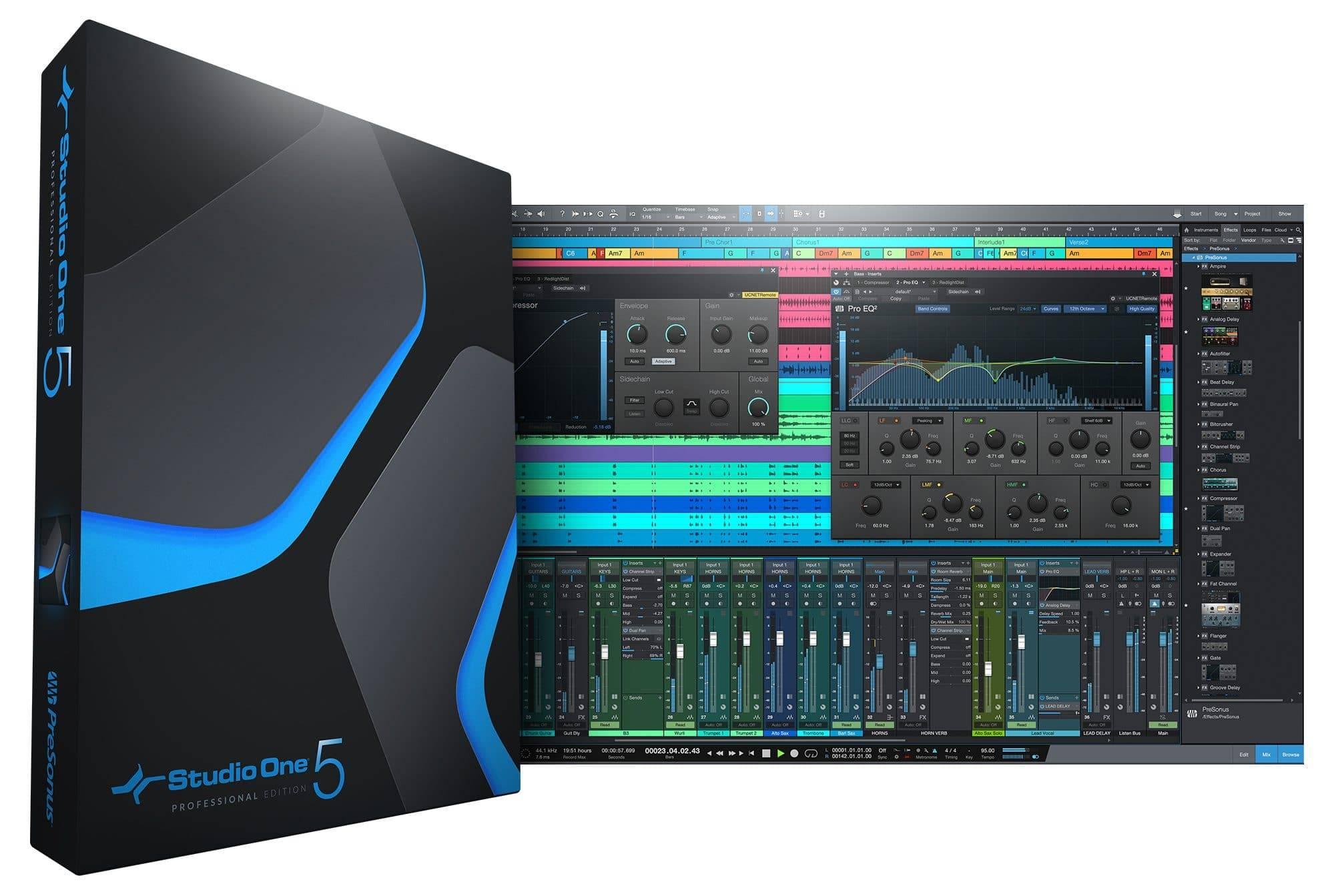 Presonus Releases Studio One 5