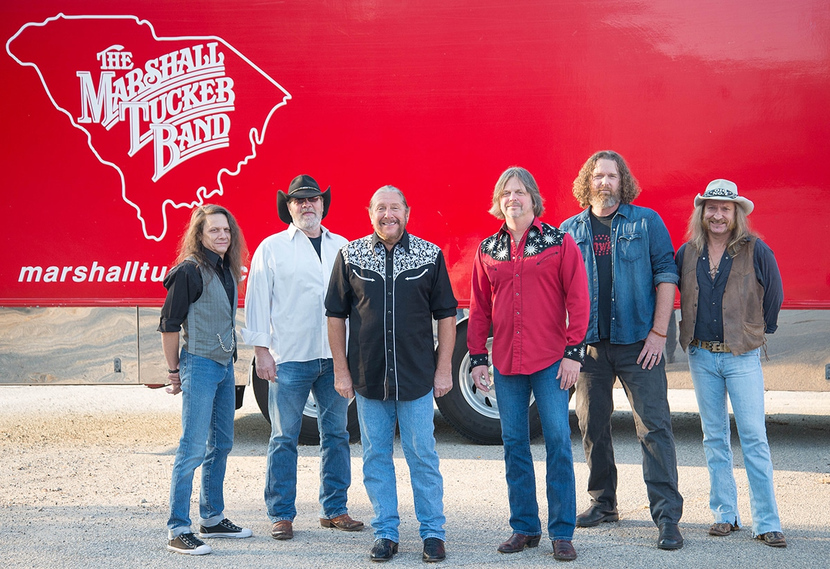 Marshall Tucker is on the Road Again and Making a Scene!