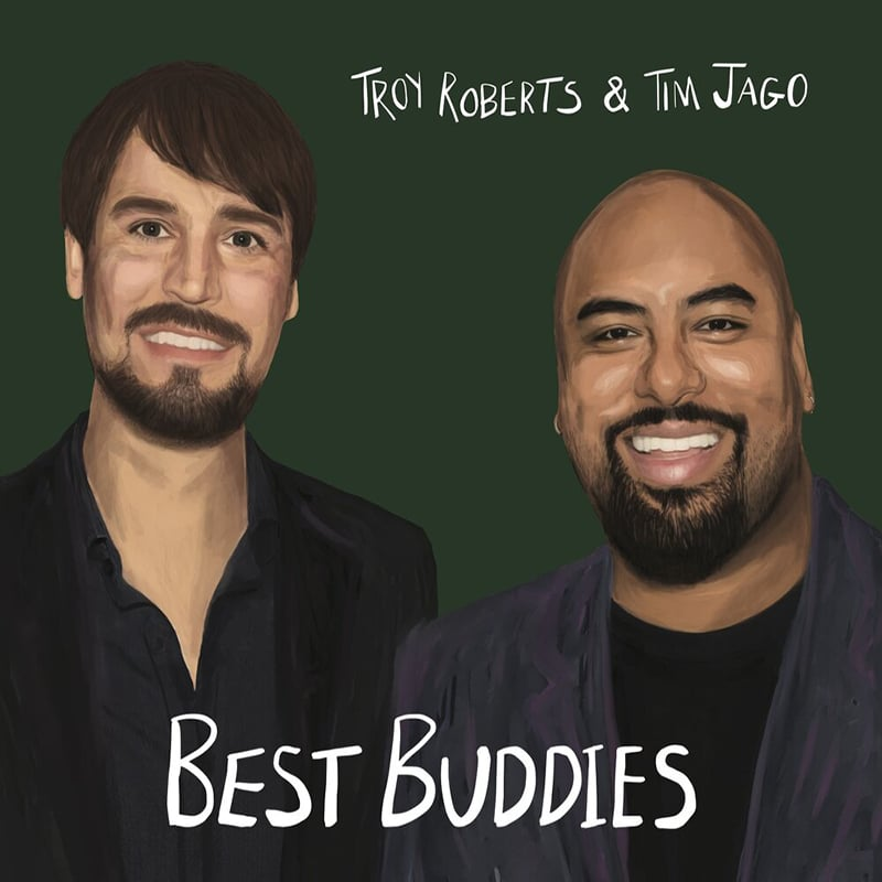 Troy Roberts and Tim Jago Best Buddies