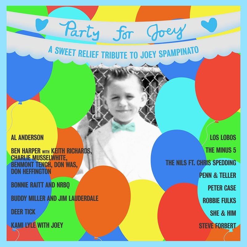 Various Artists A Sweet Relief Tribute to Joey Spampinato