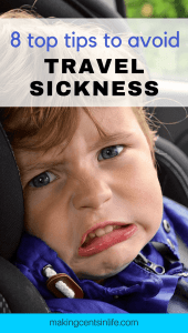 Do you have a child that suffers from chronic travel sickness? Check out my top 8 tips on how to avoid travel sickness and make your next road trip barf free!