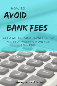 How to avoid bank fees