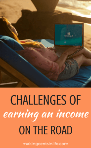 To make money while traveling full-time can be a little challenging at times, Scott and Hayley share their story and challenges of earning an income on the road.