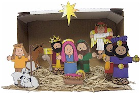 f nativity scene More Christmas Fun!
