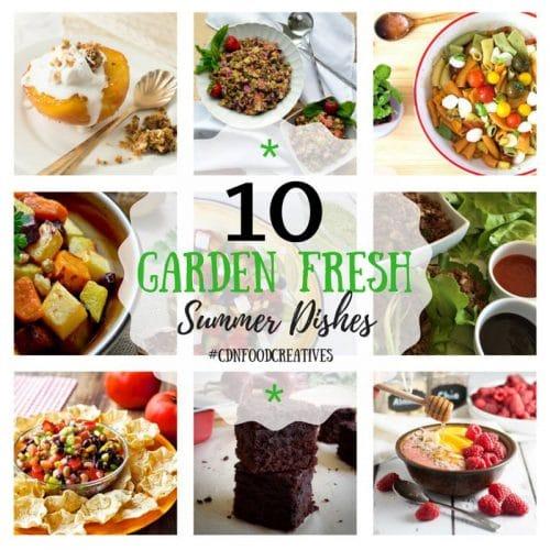 10 Garden Fresh Summer Dishes