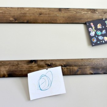 Rustic Art Display Hanger :: making it in the mountains