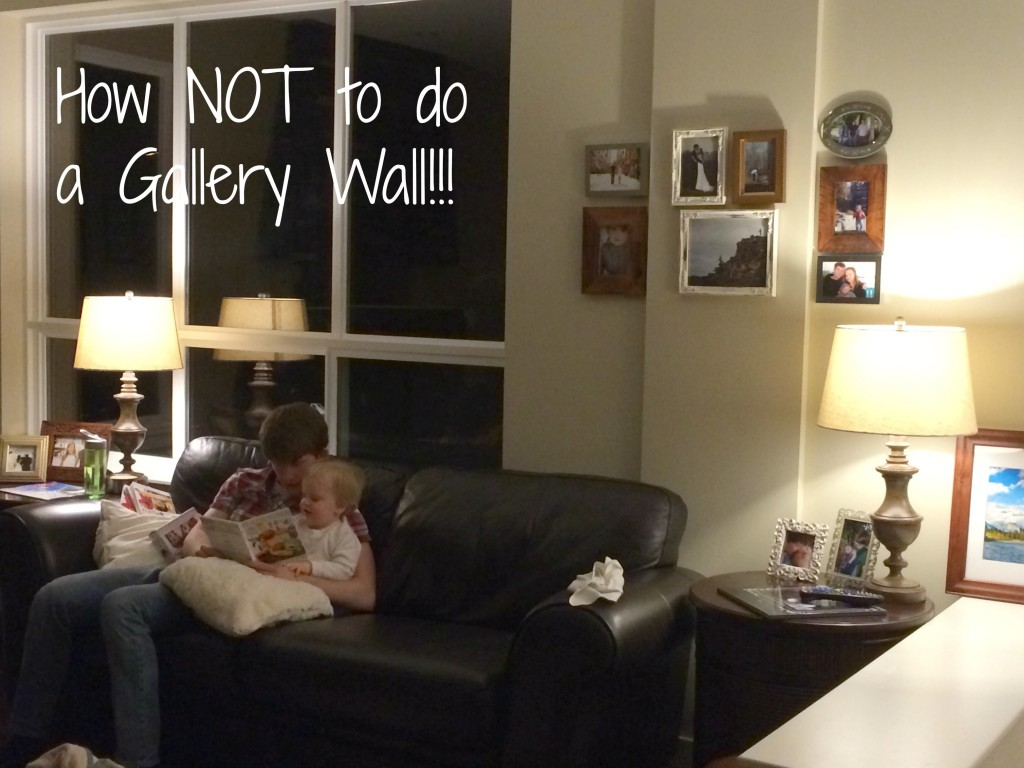 Gallery Walls diy gallery wall tutorial - making it in the mountains