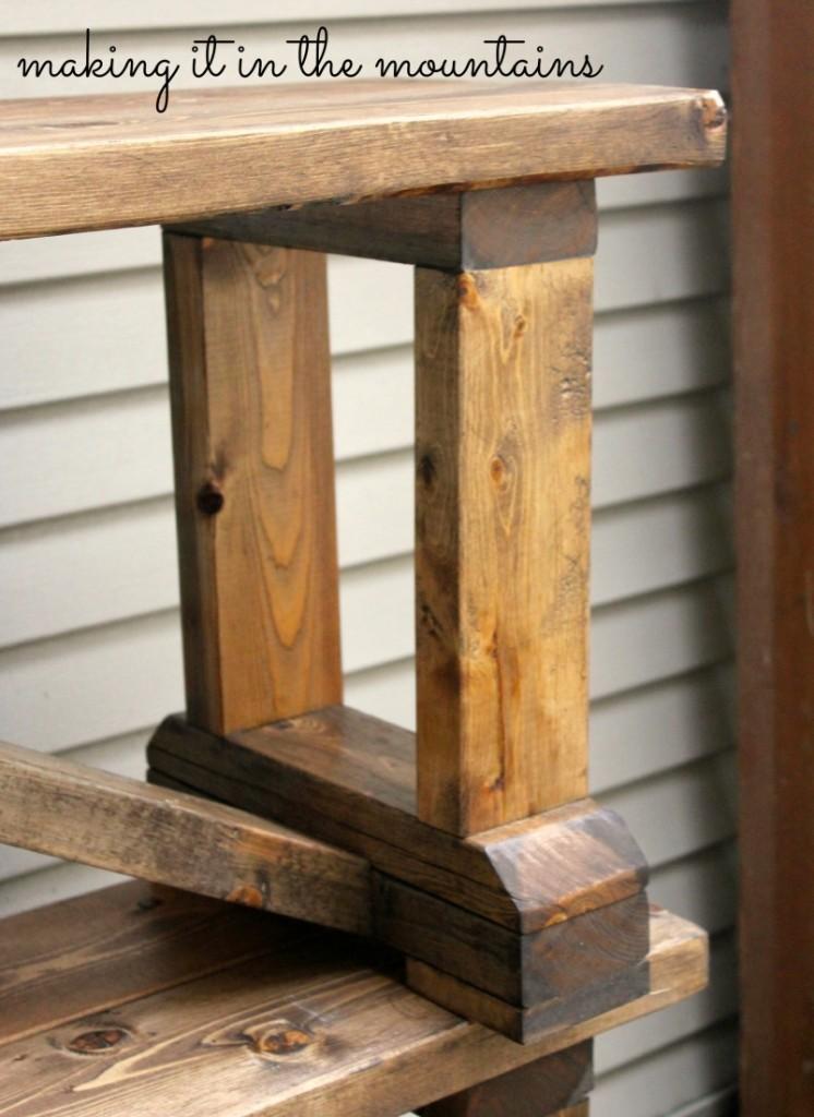 DIY Pottery Barn Inspired Table