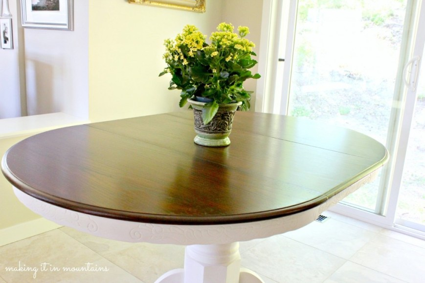 How To Makeover Your Kitchen Table And A Lesson I Learned The Hard Way - Making a kitchen table