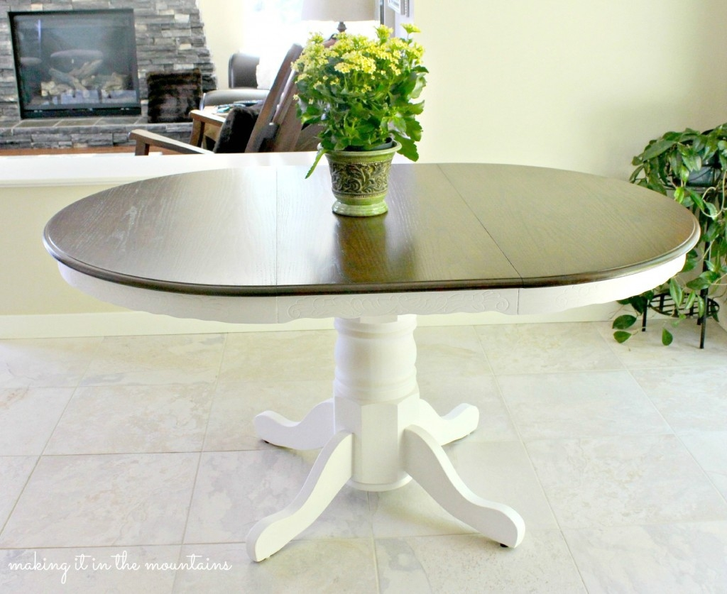 Kitchen Table Fast Color 1800-1899 Motivated Antique Carved Oak Dining Tables