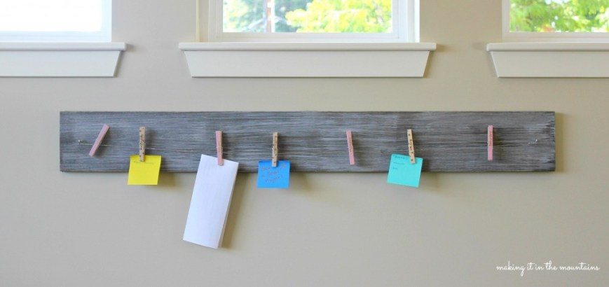 Back-to-School Weekly Calendar Board :: making it in the mountains