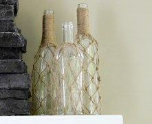 DIY Jute Bottle Net :: making it in the mountains