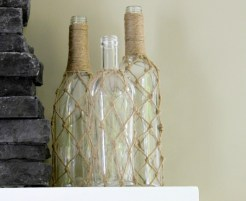 DIY Jute Bottle Net :: making it in the mountains