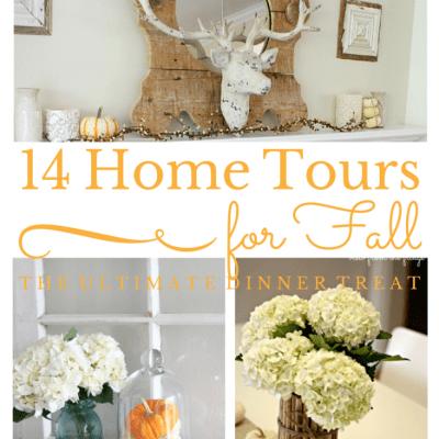 14 Inspirational Fall Home Tours