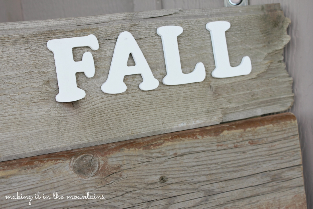 craft ideas for couples barnwood sign for fall it in the mountains 3831