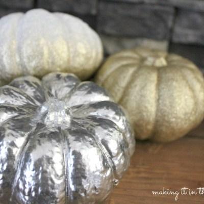 {All Things Fall} :: Pretty Painted Pumpkins