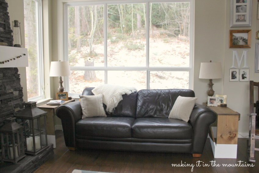 Easy ways to cozy up your Home this Winter - making it in the mountains