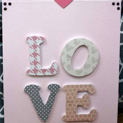 Guest Post – DIY Love Sign