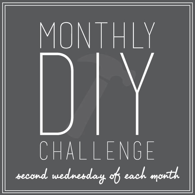 Monthly DIY Challenge | making it in the mountains