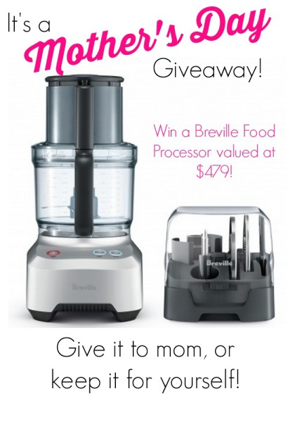 Breville Food Processor Giveaway