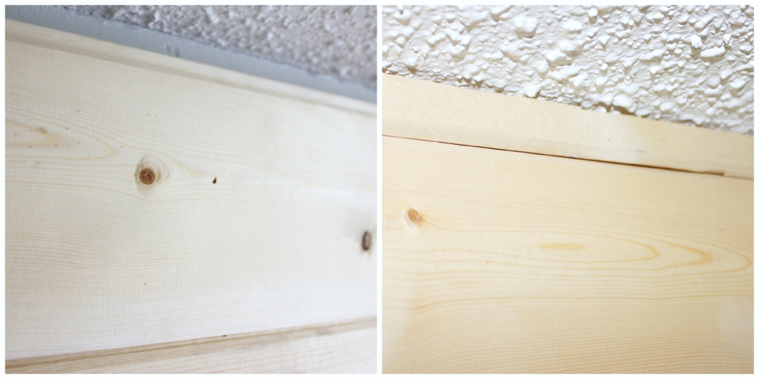 DIY Plank Wall | making it in the mountains