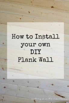 DIY Plank Wall 4