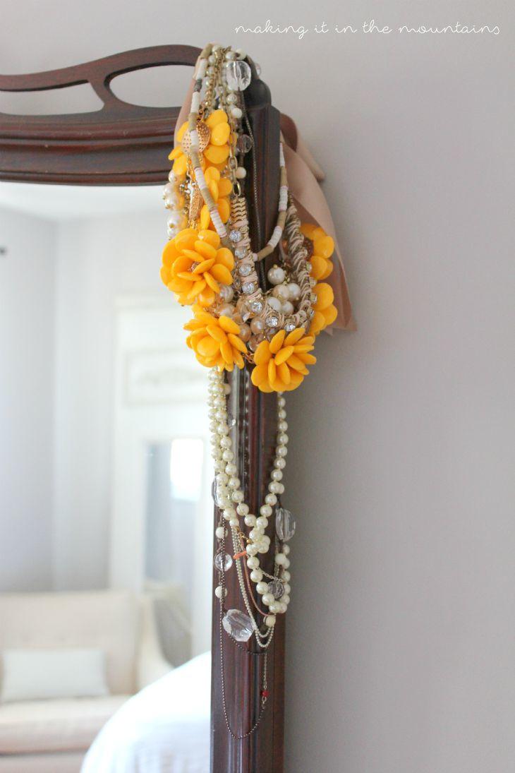 DIY Barn Wood Jewelry Hanger